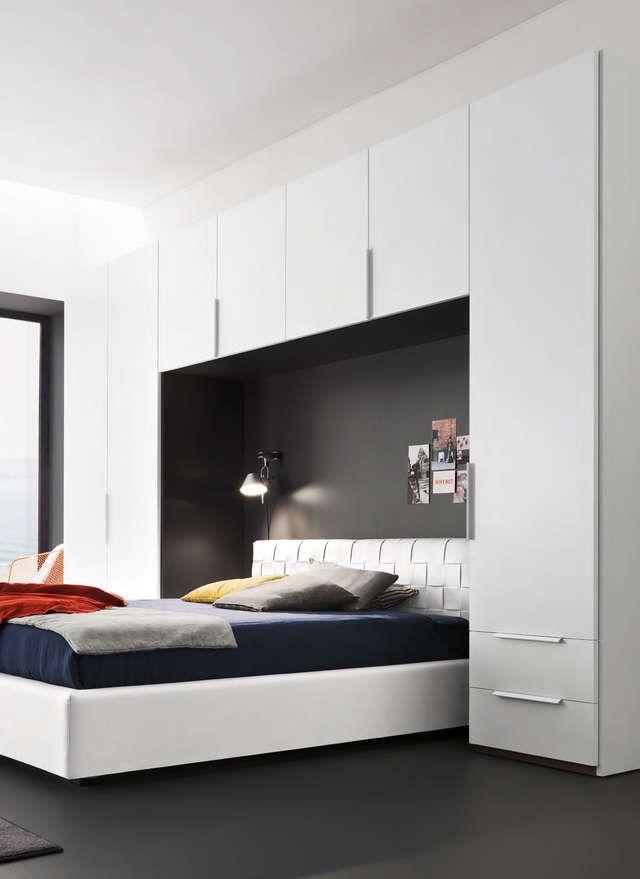 спальня со шкафами по бокам кровати: 17 тыс изображений найдено в Яндекс.Картинках
