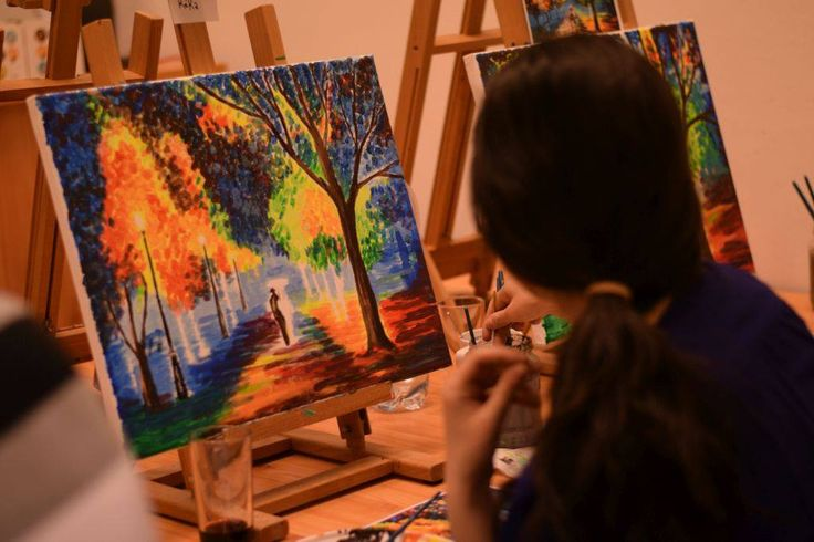 Festés közben #alkotasutca #elmenyfestes #Aframov #art #painting