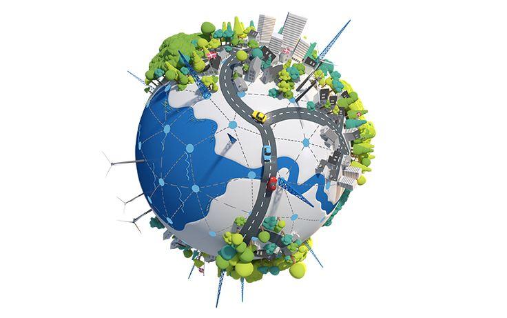 Image result for planet network illustration