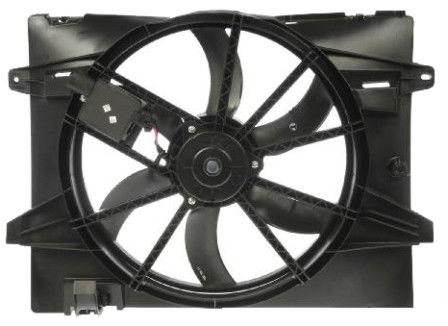 Radiator Cooling Fan Assembly Includes Control Unit; Town Car 06-10;Grand Marquis 06-10;Crown Victoria 06-11