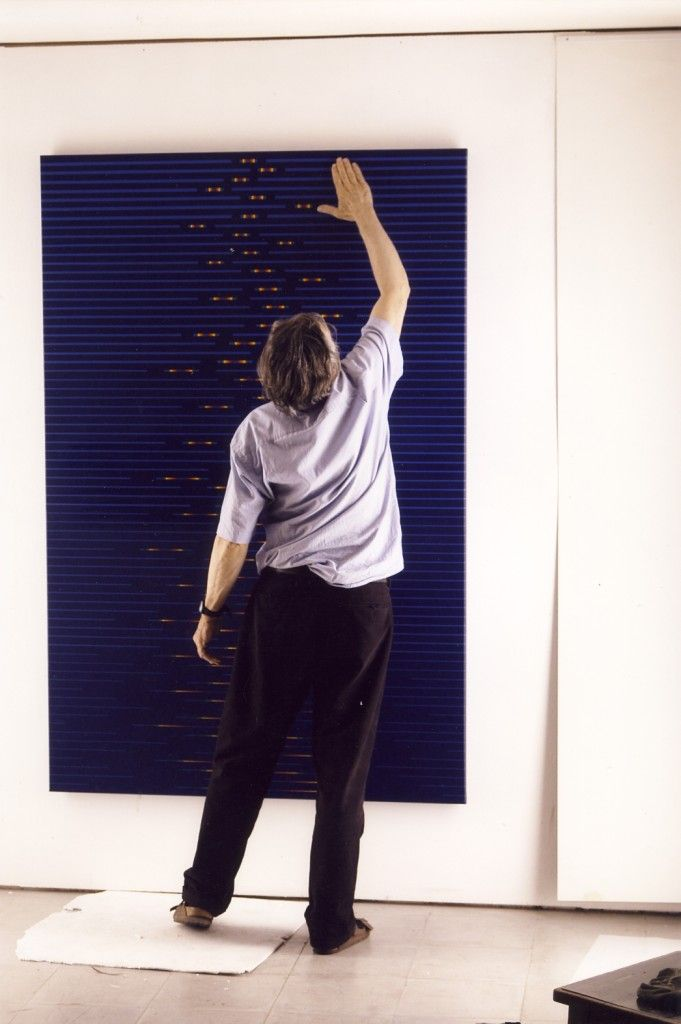 Paolo Minoli in studio, © Casaperlarte