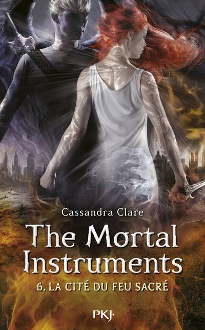 The Mortal Instruments/ La Cité des Ténèbres 6 La Cité du Feu Sacré de Cassandra Clare, retrouvez mon avis sur mon blog!
