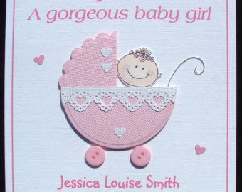 tiny shoes spanish language new baby girl card greeting cards