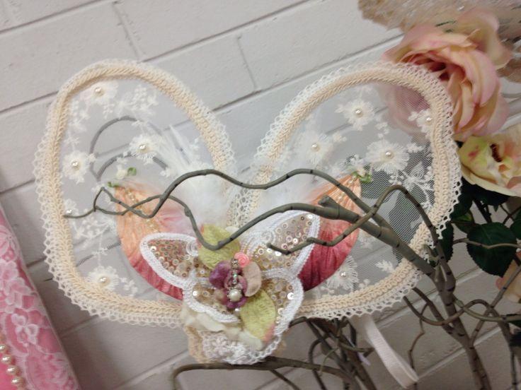 Vintige style fairy wings.
