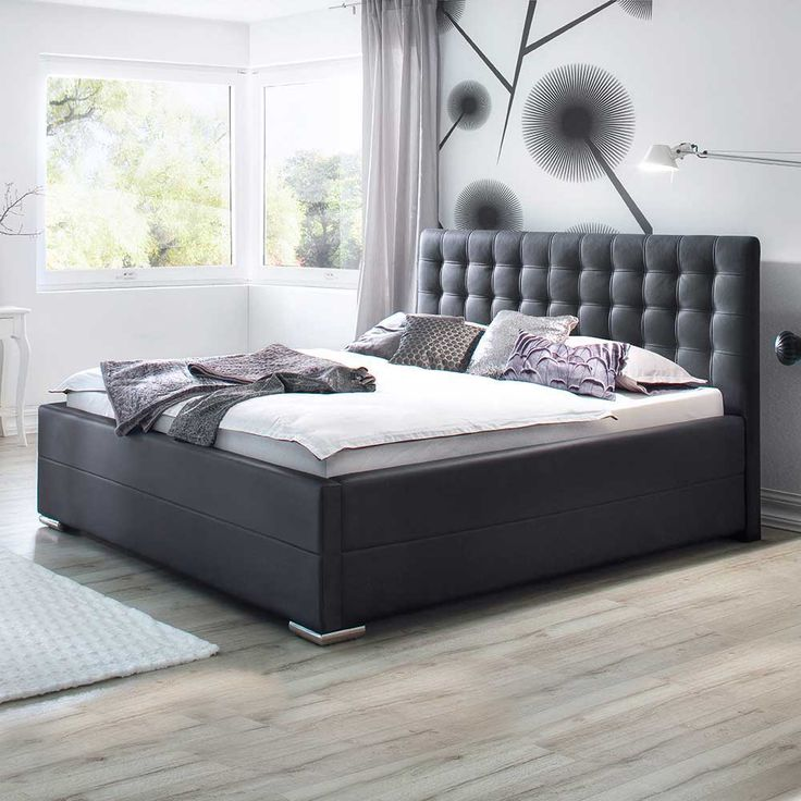 die besten 25 lederbett ideen auf pinterest wei es. Black Bedroom Furniture Sets. Home Design Ideas