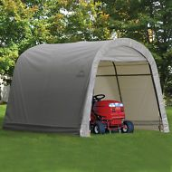 Shed In A Box Portable Storage Sheds 10 X 8 Fabric Covered Roundtop