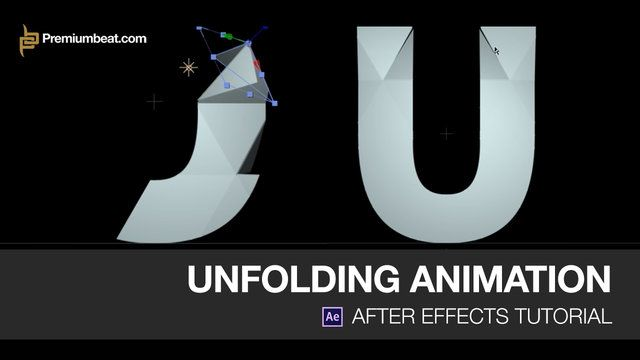 Learn how to create a visually impressive folding/unfolding animation in Adobe After Effects!