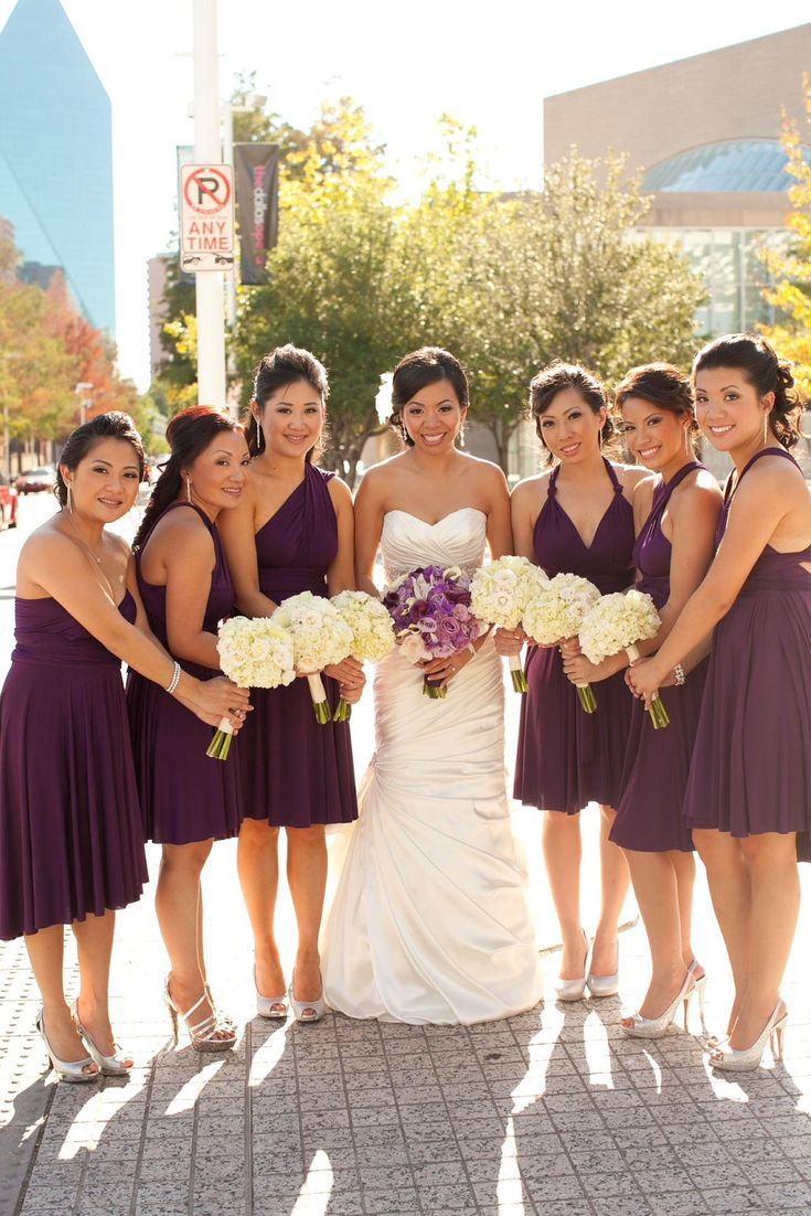 190 best purple bridesmaid dresses images on pinterest purple purple bridesmaid dress convertible infinity by thejerseymaid ombrellifo Gallery