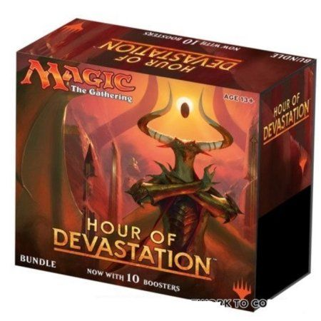 Magic Hour Of Devastation Sealed MTG Bundle Box (Fat Pack) 10 Booster Packs