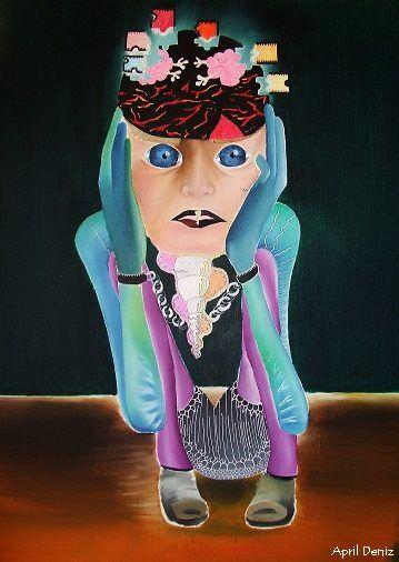 """April Deniz, """"Benimle Oynar Mısın"""" sergisinden, 2014"""