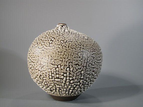 Beautiful texture.  Uniquely handmade by MatildaMorganCeramic