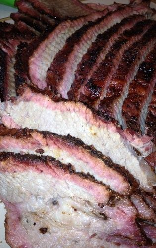 #myhttender Brisket is an ABSOLUTE favorite of ours! This would be the first thing we'd try out on the new Big Green Egg. #myhttender