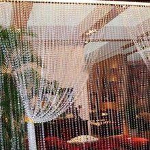 1030 Metros Cortinas De Cuentas De Cristal Cortina de Ventana de La Puerta de Cristal para Puertas de Salón Del Banquete De Boda de Navidad Decoración