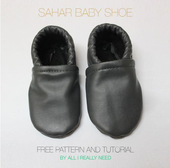 Soft-soled, slip-on shoe pattern & sewing tutorial: The Sahar Baby Shoe Pattern , by MayaCeder, 11 Jan. 2014. #Roybeezstyle