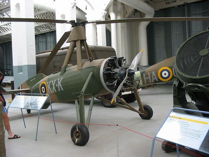 Avro 671 Rota Mk 1 at Imperial War Museum, Duxford Role Autogyro Designer Juan de la Cierva First flight 1933 Introduction 1934 Number built 148 Variants Cierva C.40