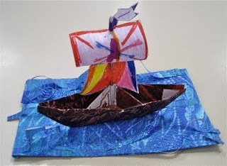 Kolmiulotteisuus: merirosvolaiva.