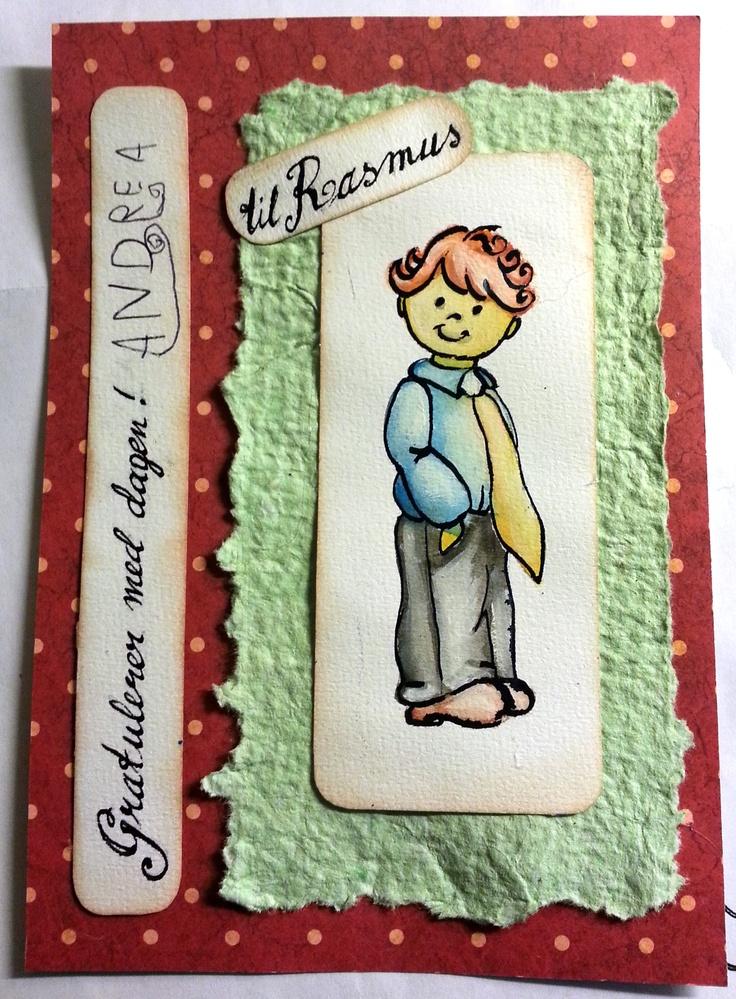 hand drawn greeting card