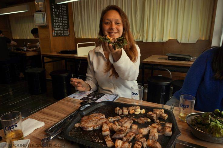 Corea del Sur | South Korea | Korean Food | Comida coreana | Samgyeopsal