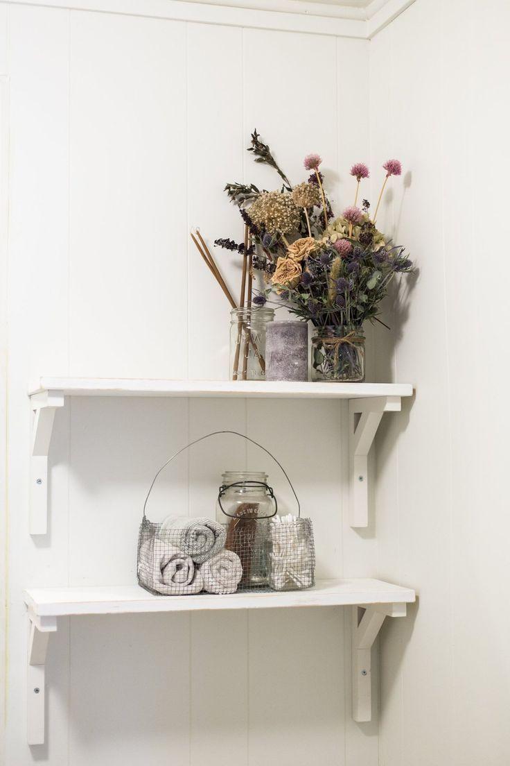 The dried flowers are so darling in Tegan & Dan's Renewed East Vancouver Gem… – most beautiful shelves