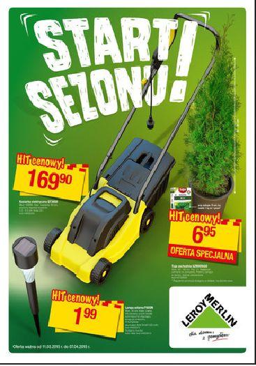 Rozpocznij sezon z najnowszą ofertą Leroy Merlin! :) http://www.promocyjni.pl/gazetki/22297-start-sezonu-gazetka-promocyjna#page=1