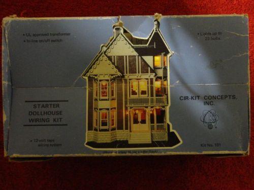 Cirkit 101 Starter Dollhouse Doll House Wiring Kit Lights Up To 23