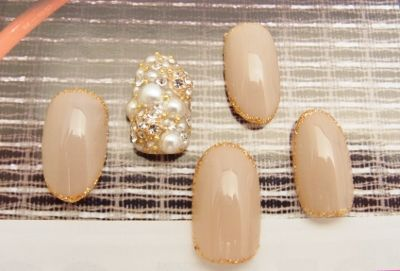bijuo vintage feminine nail Gallery 港区六本木のネイルサロンはVAJRA precious nails