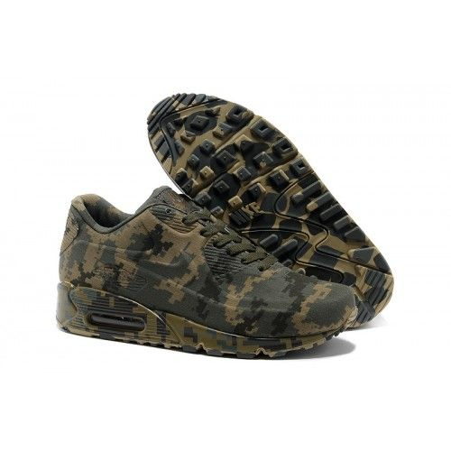 Recommended Nike Air Max 90 VT Fashion Sports Shoes outlet Gray Camouflage