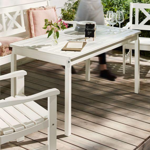 Outdoor Tisch Landhaus Outdoor Geeignet Landhausstil Massives