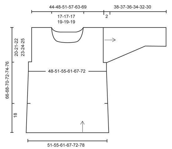 """Perly May / DROPS 160-5 - Pulóver DROPS en punto musgo y punto jersey, con aberturas laterales, en """"Bomull-Lin"""" o """"Paris"""". Talla: S – XXXL. - Free pattern by DROPS Design"""