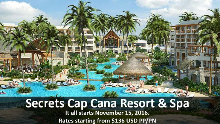 Paradise Starts Here - Secrets Cap Cana Resort & Spa - https://traveloni.com/vacation-deals/paradise-starts-secrets-cap-cana-resort-spa/ #adultsonly #capcanavacation #caribbeanvacation