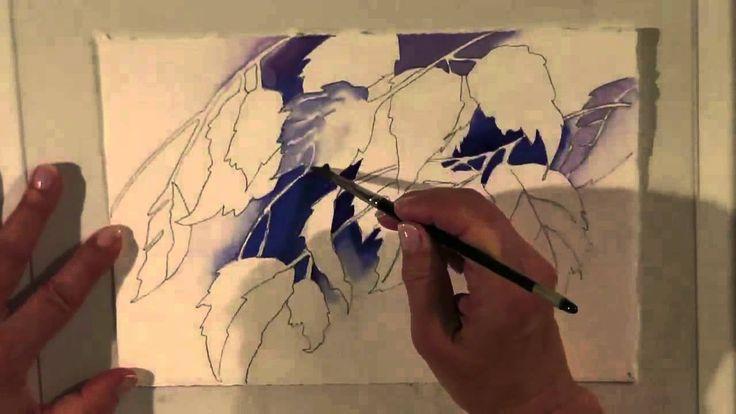 Watercolor for Beginners (Episode 12): Falling Leaves with Jan Fabian Wa...