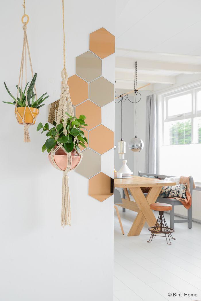 Groen in huis stylingtip plantenhangers Binti Home Blog ©BintiHome