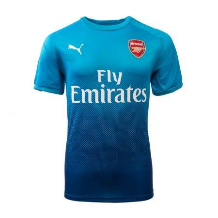 Arsenal Udebanetrøje 17-18 Kort ærmer