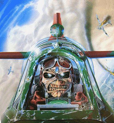 Aces High (single)   Community Post: Os Eddies Do Iron Maiden De Um Jeito Que Você Nunca Viu