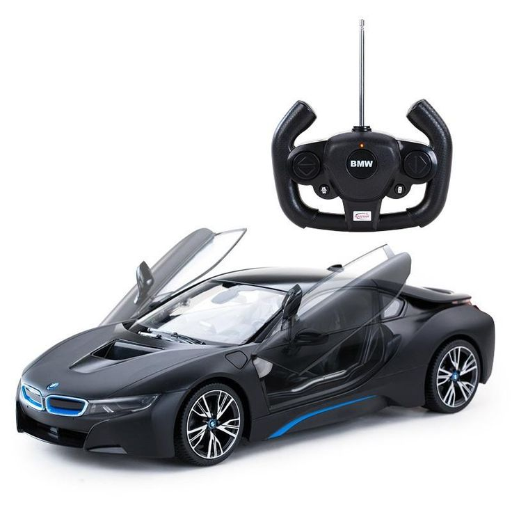 Kids Car Toys Rc Remote Comtrol Bmw I8 Battery Charge