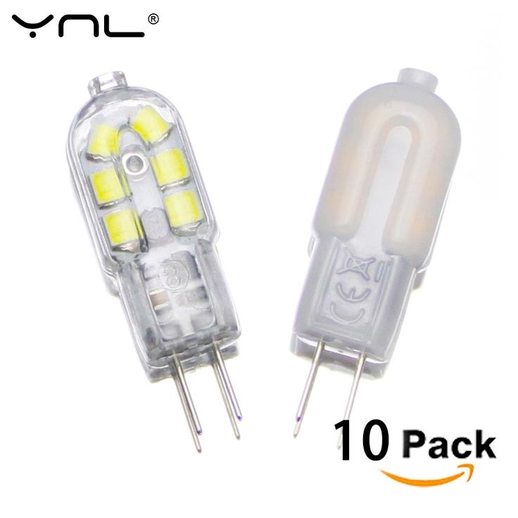 10pcs G4 LED Lamp 2W DC 12V SMD 2835 Lampada LED G4 220V Mini Bulb Milky or Transparent 360 Beam Angle Lights Replace Halogen G4 #Affiliate