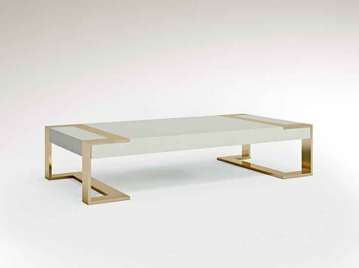 Low Square Coffee Table Wooden