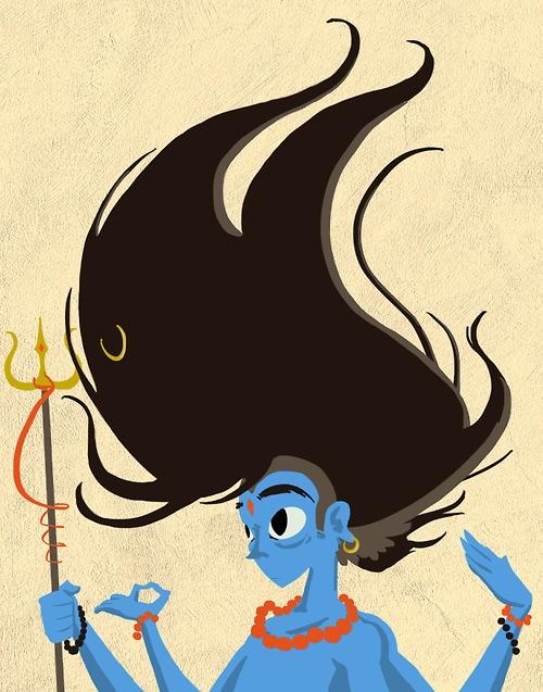 Little Shiva Bouffant