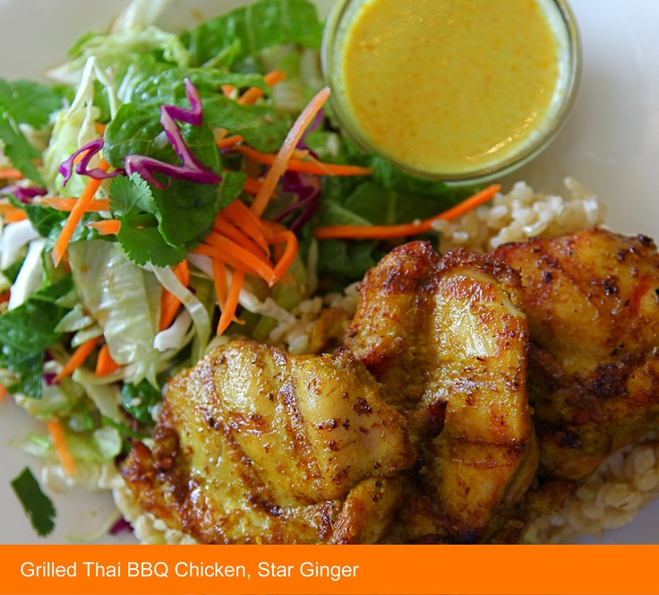 Pin by star ginger on star ginger menu pinterest - Marinade poulet curry barbecue ...