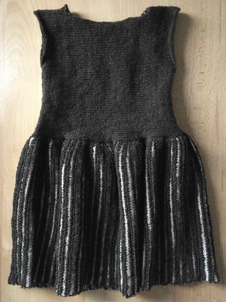 Opskrift på strikket kjole - Kjole fra Mormor