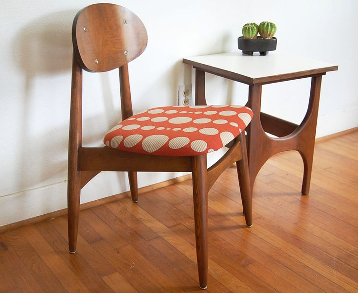 Danish Modern Desk Chair Knoll Fabric Cushion by ljindustries on Etsy https://www.etsy.com/listing/210172285/danish-modern-desk-chair-knoll-fabric