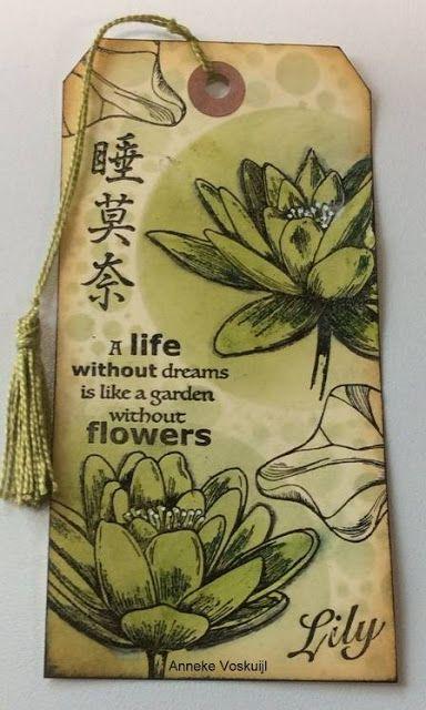 Art Journey Design-team: New Art Journey Stamps: Lily