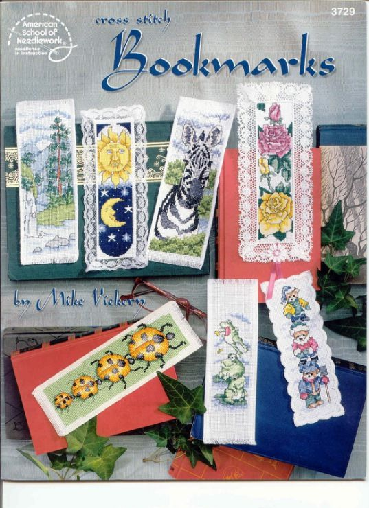 Gallery.ru / Фото #18 - 262 - elypetrova..free cross stitch patterns for lots of bookmarks!!