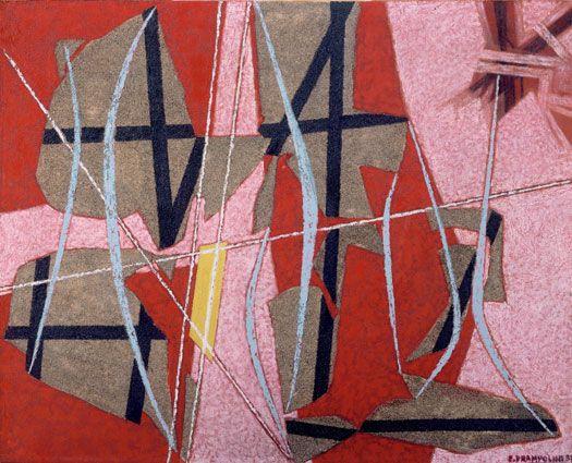 Enrico Prampolini (1894-1956), Concrete Anatomies A, 1951