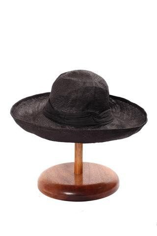 Elegant Hats by Maya Neumann - Crushable Travel Hat made from Water Hyacinth and hand dyed, made in Australia