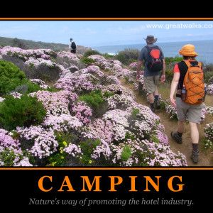 Who loves camping?