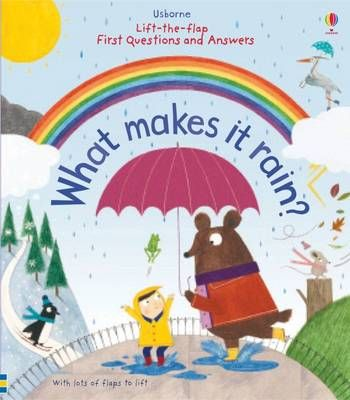 Lift-the-Flap First Questions and Answers What Makes it Rain? (Board book): Katie Daynes