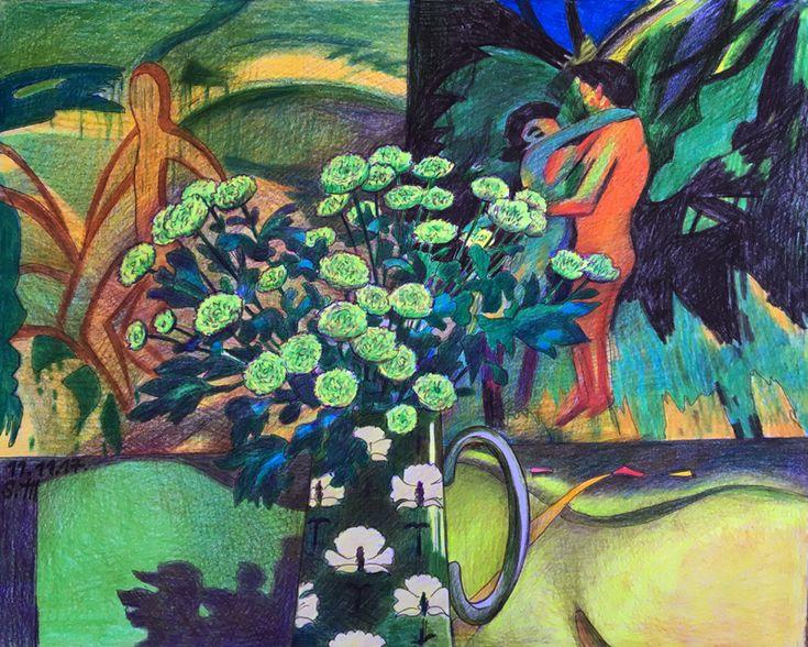 Зеленые хризантемы.: st_f