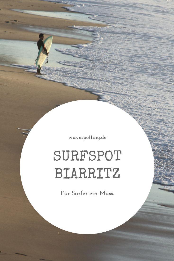 Surfen || Surfspot || Surf Tips || Surfing || Tipps || Reisen || Bilder || Wellen || Frankreich || Biarritz