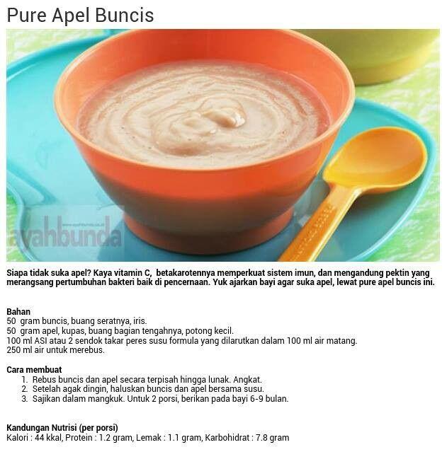 Pure Apel Buncis